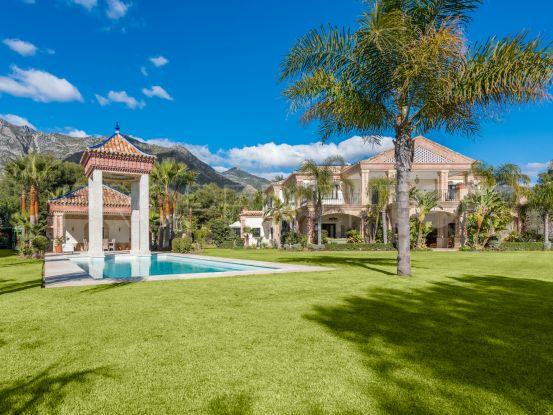 La Quinta de Sierra Blanca, Marbella Golden Mile, villa de 6 dormitorios en venta   Panorama