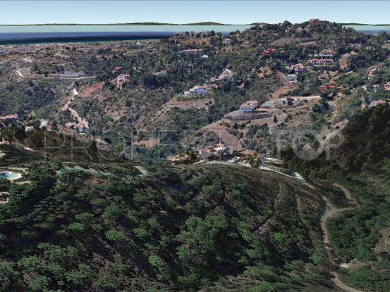 Plot in El Madroñal for sale | Panorama