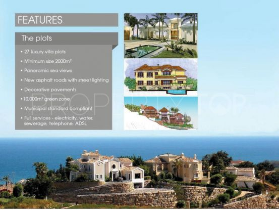 Plot for sale in New Golden Mile, Estepona | Panorama