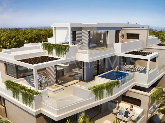 For sale duplex penthouse with 4 bedrooms in New Golden Mile, Estepona | Drumelia Real Estates