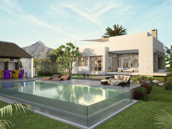 For sale Nueva Andalucia villa with 5 bedrooms   Bromley Estates