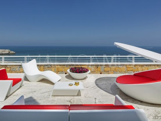 For sale penthouse in Sabinillas with 1 bedroom | NJ Marbella Real Estate