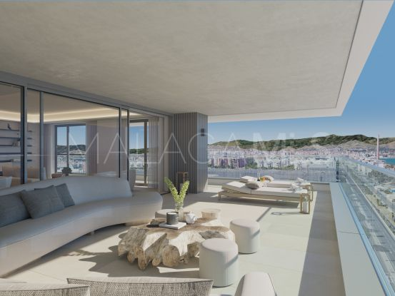 For sale Malaga apartment with 3 bedrooms | NJ Marbella Real Estate