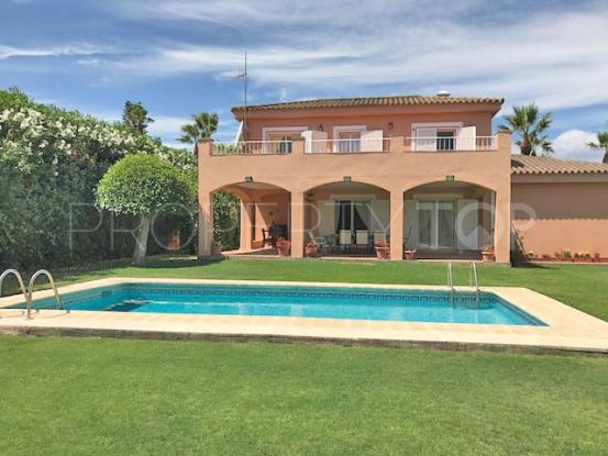 For sale villa in Sotogrande Costa Central with 4 bedrooms | Holmes Property Sales