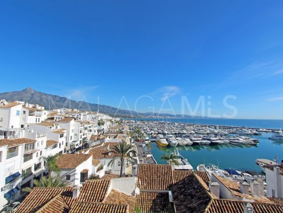 For sale penthouse in Marbella - Puerto Banus with 3 bedrooms | Lamar Properties