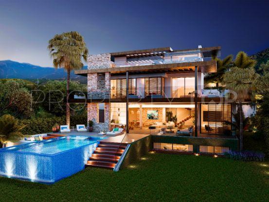 Buy villa with 4 bedrooms in La Alqueria, Benahavis | Inmobiliaria Luz