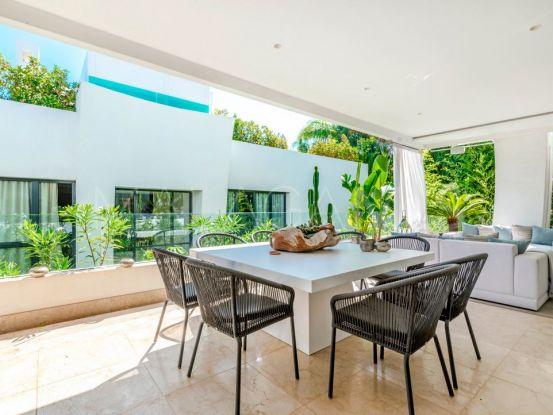 Ground floor duplex with 4 bedrooms in Nagüeles, Marbella Golden Mile | Escanda Properties