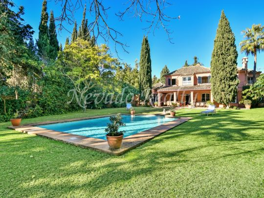 Family beach side villa in exclusive residential area close to the golf
