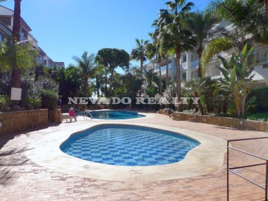 Lovely aparment situated in Las Cañas Beach, fist line and close to all services.