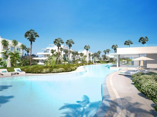 Penthouse for sale on flat in Atalaya Golf, Estepona on the Costa del Sol.
