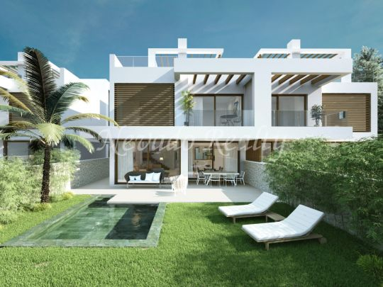 6 semi-detached off plan villas next to the Cabopino golf course