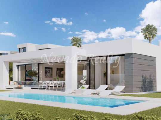 21 off plan villas next to the golf with private pool with sea views