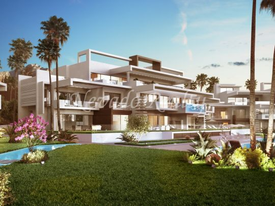 Exclusive luxury apartments and penthouses complex on the Golden Mile of Marbella