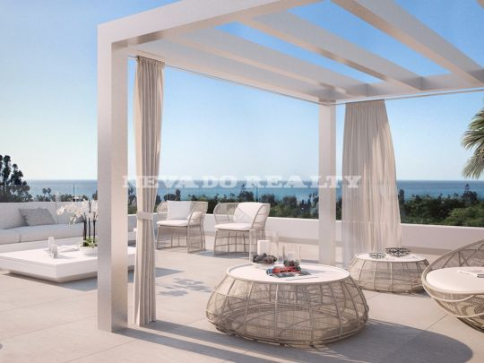 Costa del Sol, Estepona, contemporary apartments of new construction, 500 meters away from the sea.