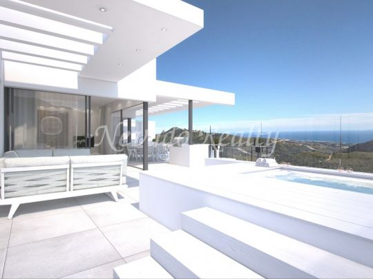 Brand new luxury apartments and penthouses panoramic sea views