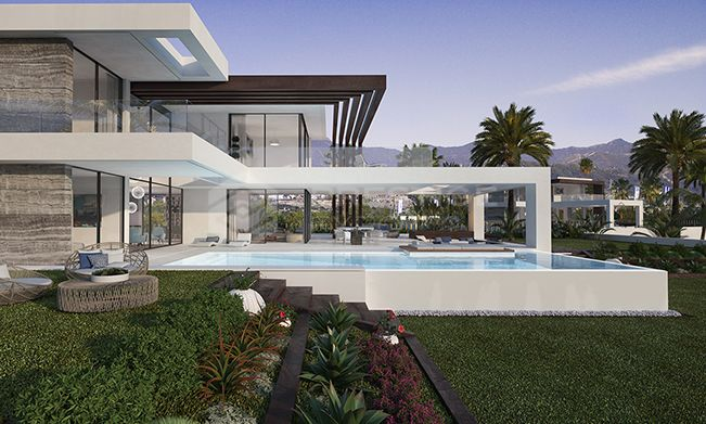 12 villas independientes con un diseño único y contemporáneo.
