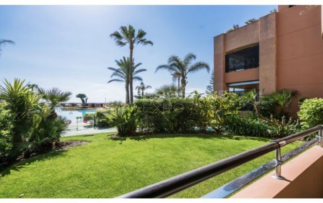 Ground floor apartment in Malibu urbanisation, Puerto Banus, Marbella