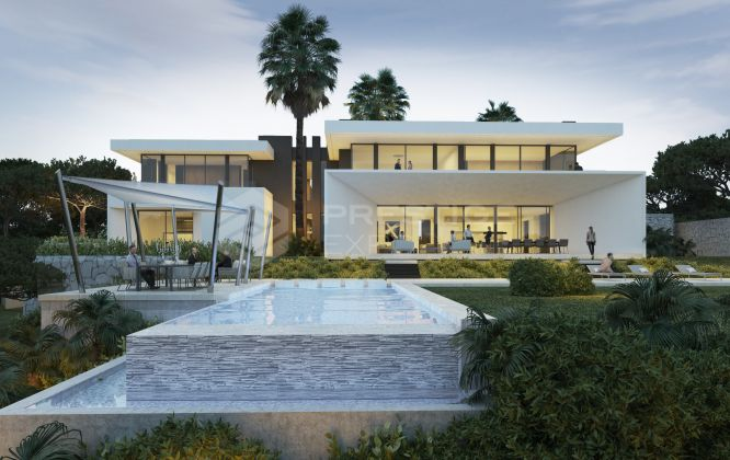 Eight immaculate modern villas in La Reserva de Alcuzcuz