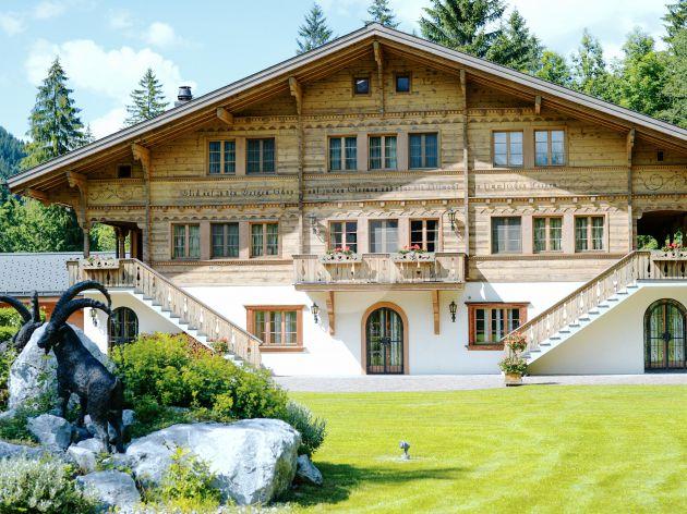 Switzerland, Gstaad ,Chalet