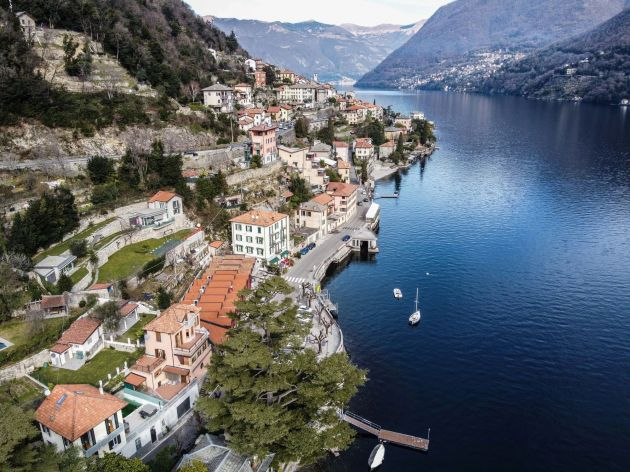 Villa Lucia, southwestern shore of Lake Como, Italy