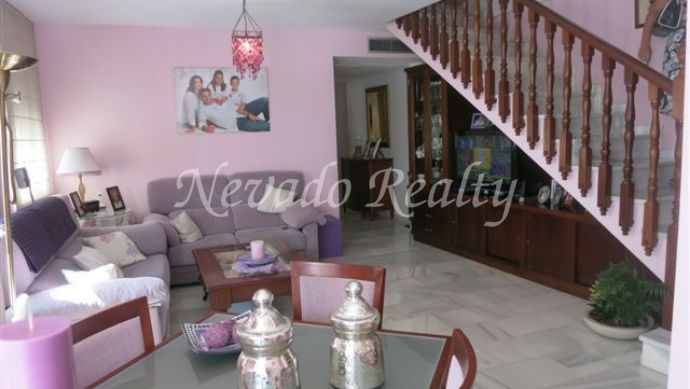 Charming totally refurbished duplex penthouse situated in the old town.
