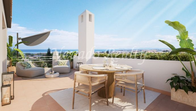 New development of apartments and penthouses for sale very close to Puerto Banus