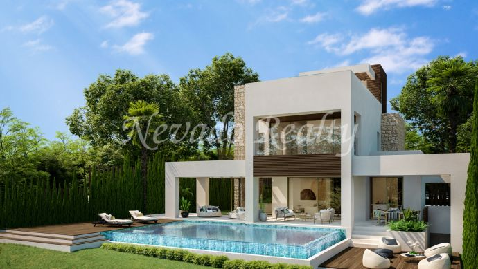 New promotion for sale of 15 luxury villas in Marbella Center