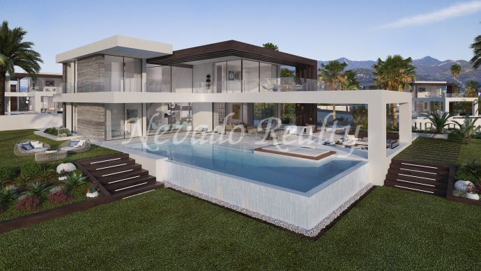 12 brand new luxury modern villas with sea views