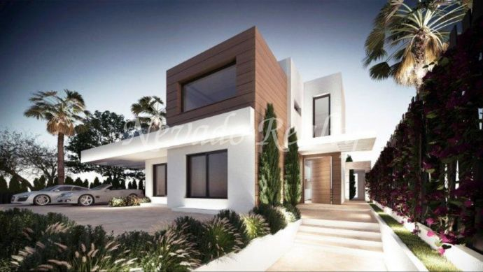 7 villas under construction within an exclusive area of the Marbella Golden Mile