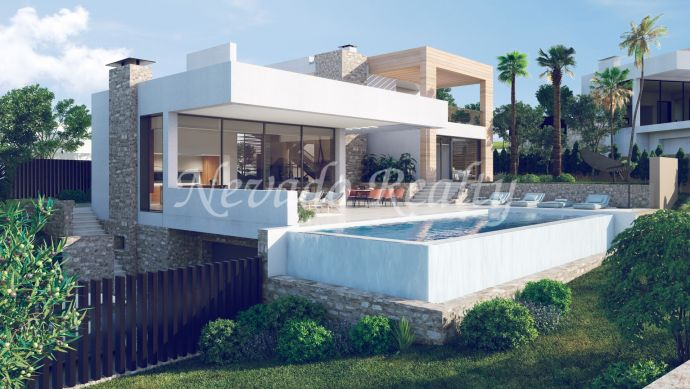 Set of 5 luxury villas with stunning views in the Golf Valley