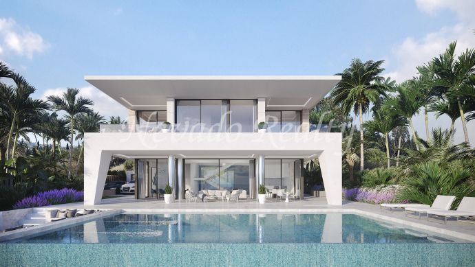 3 & 4 bedroom brand new villas next to Puerto de la Duquesa