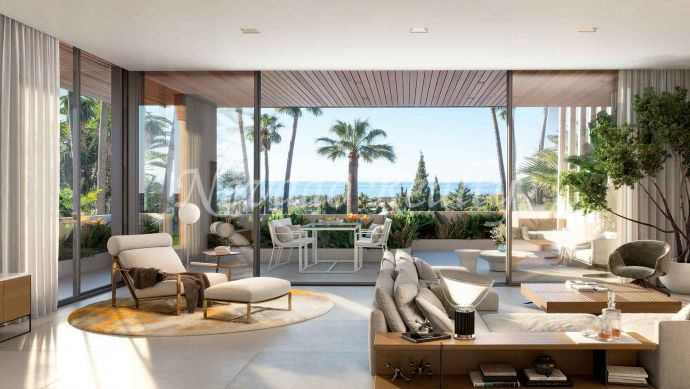 New promotion of under-construction luxury semi-detached villas for sale in Marbella