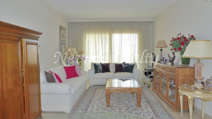 Apartment with sea views in Marbella City Center