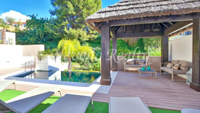 Brand new semi-detached villa for sale in Marbella city centre