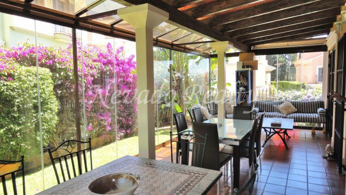 Elegant villa located in Marbella city centre
