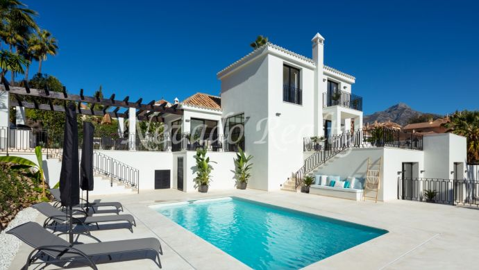 Fully renovated villa close to the golf for sale in Nueva Andalucía