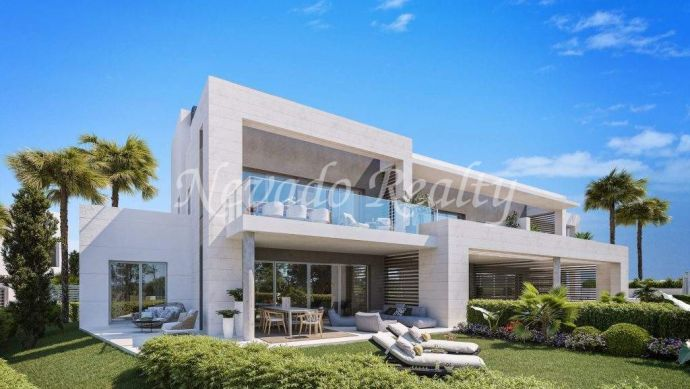 Brand new semi-detached house for sale next to the Real Golf Club of Guadalmina Alta