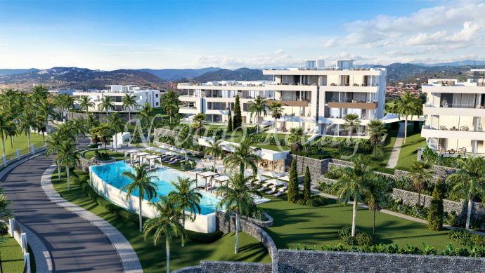 Brand new duplex penthouse for sale in Santa Clara Golf Club, Marbella