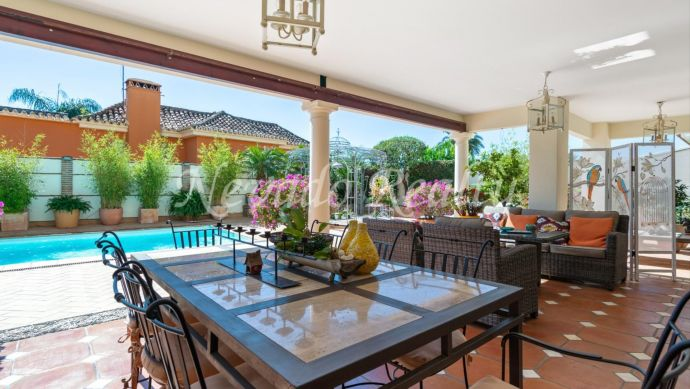Cosy and impeccable family home for sale in Marbella