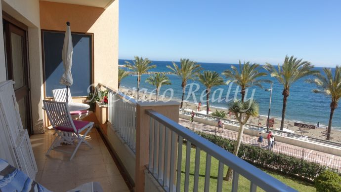 Apartment for sale in Marbella center with beautiful sea view