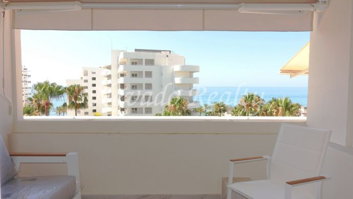 Renovated Sea views apartment for long term rental