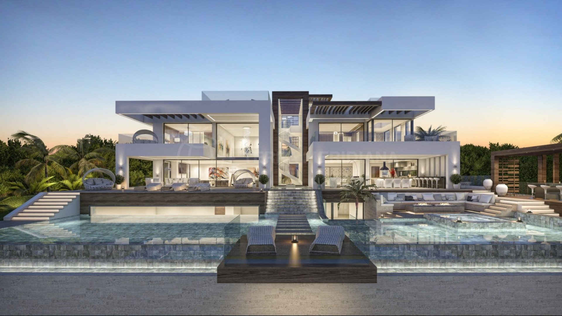 New Build Luxury Modern Villa For Sale Private Pool