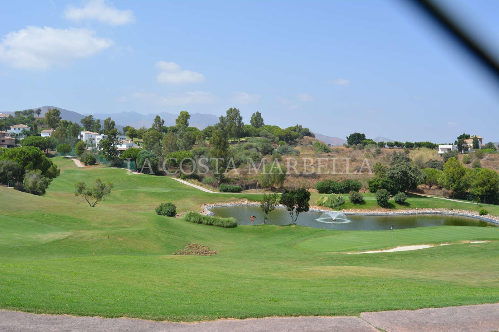Front-line golf plot in La Cala Golf Resort, Mijas Costa