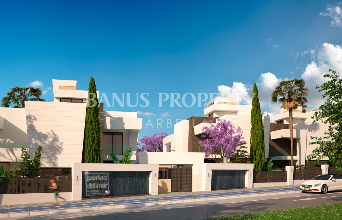 Brand new four-bedroom villa for sale only five minutes' drive to Puerto Banús