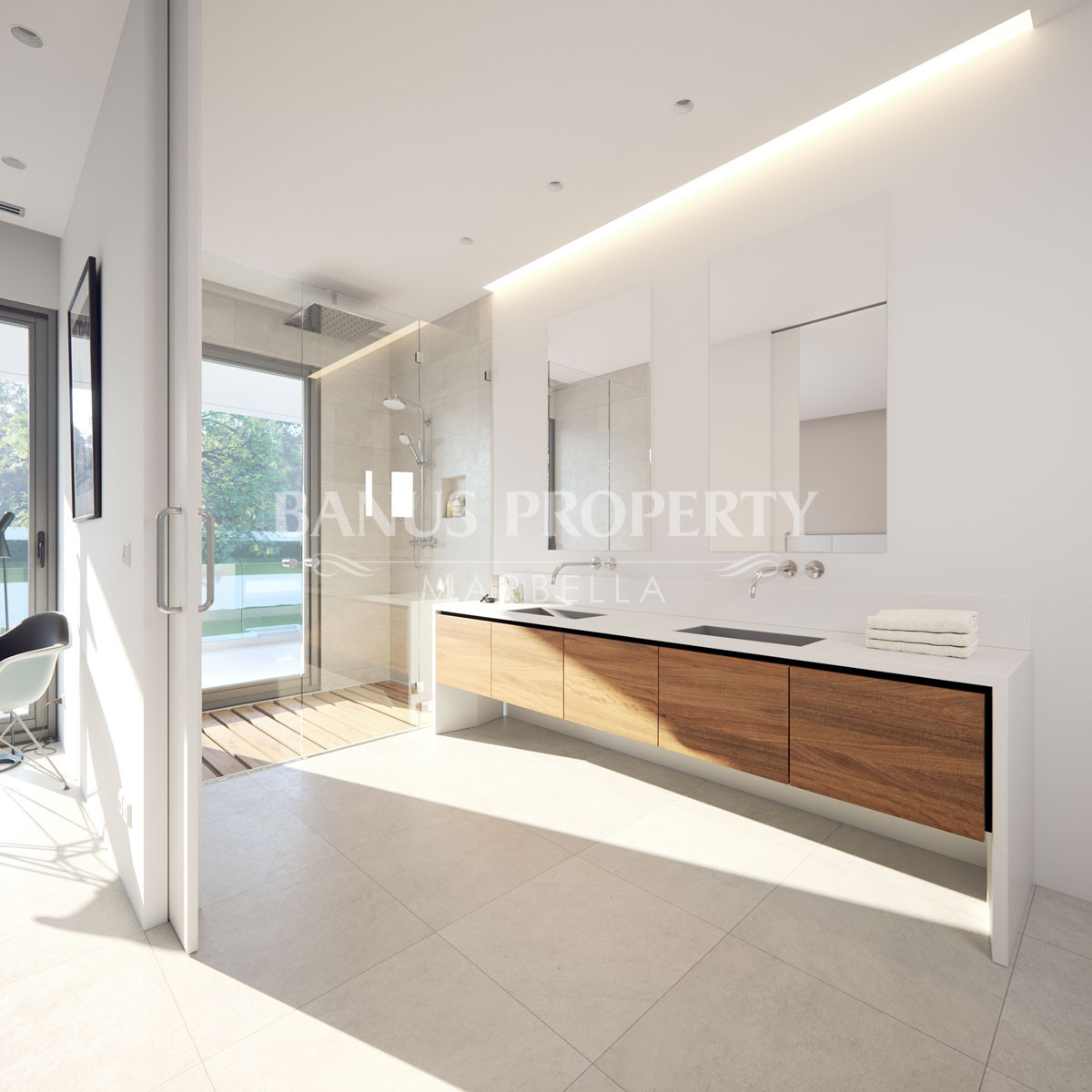 Contemporary design 4 bed villa for sale within walking distance to Puerto Banus