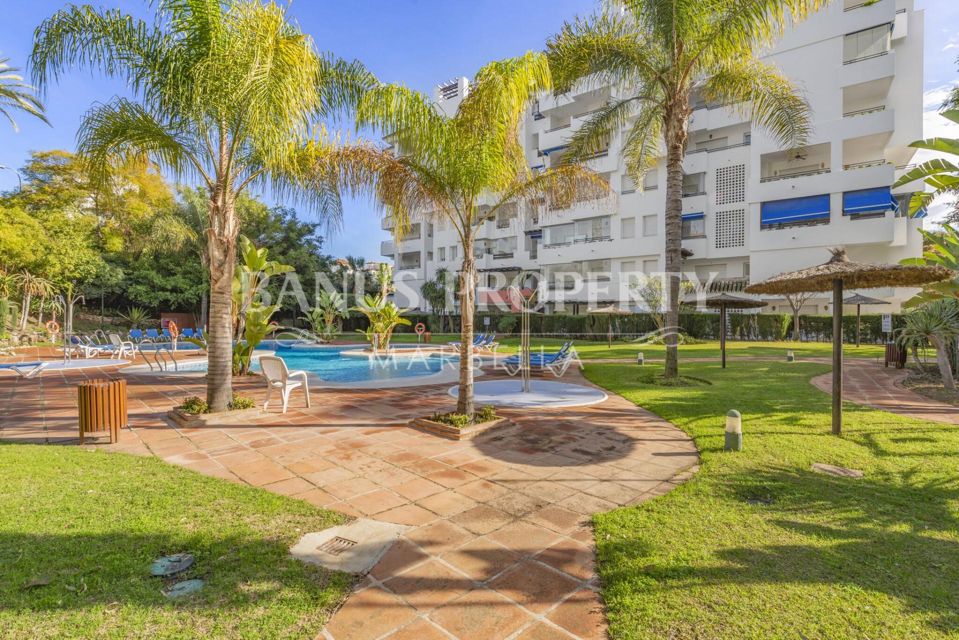 Studio apartment, with sea views, in Medina Garden - Puerto Banús