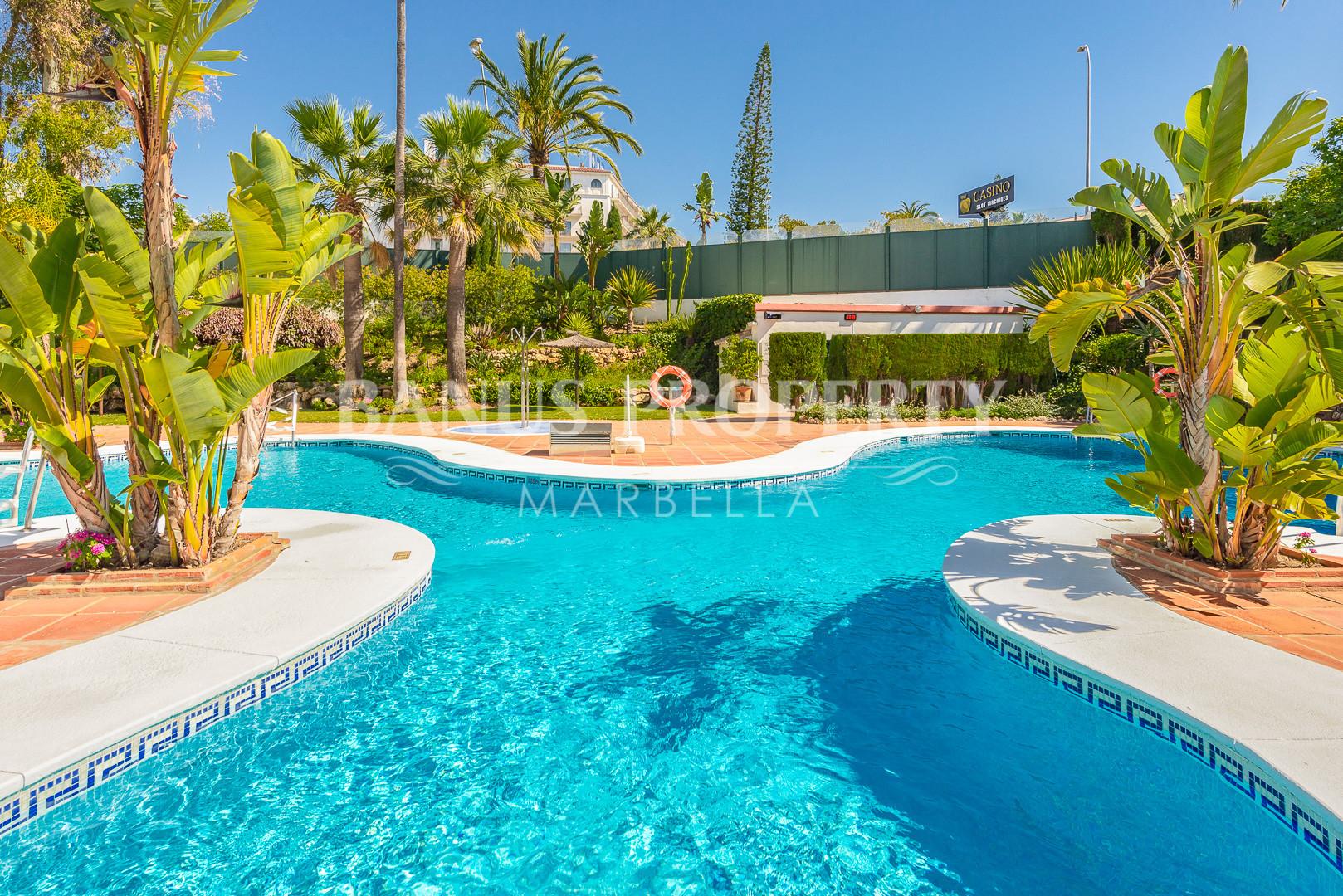 3 bedroom apartment, with sea views, in Medina Garden - Puerto Banus