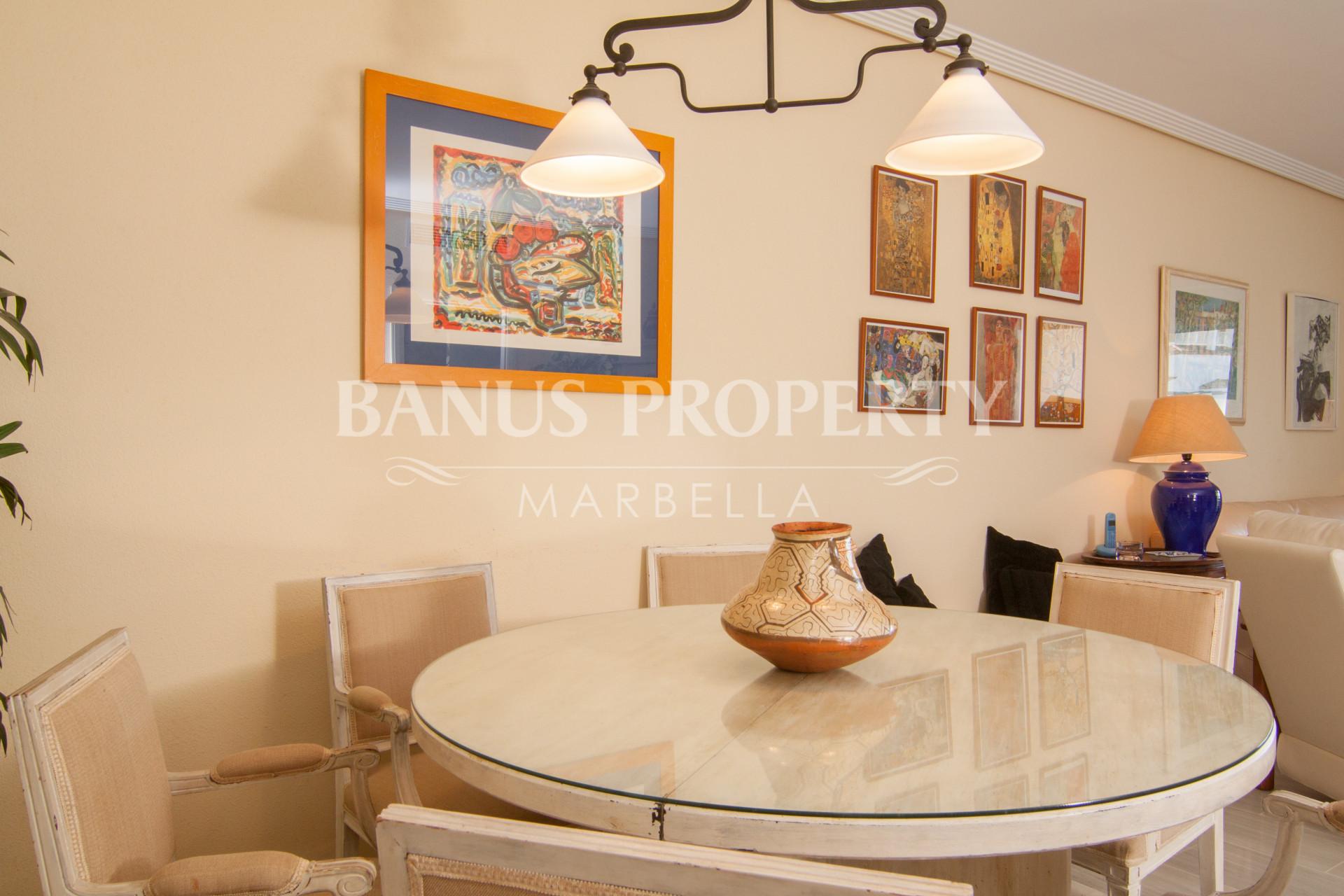 Three-bedroom third floor apartment for sale in Medina Garden, Puerto Banus