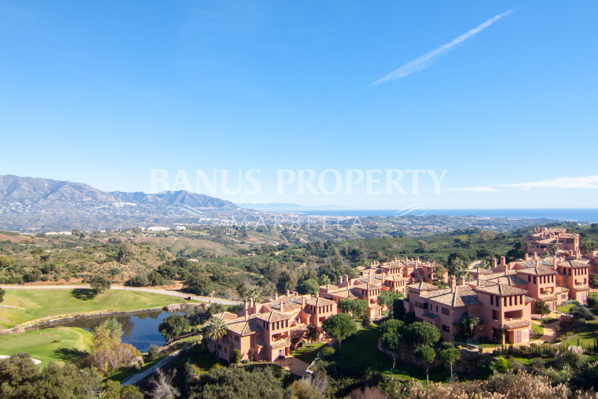 Large 3 bedroom duplex penthouse apartment with outstanding elevated open sea views for sale in El Soto, Marbella
