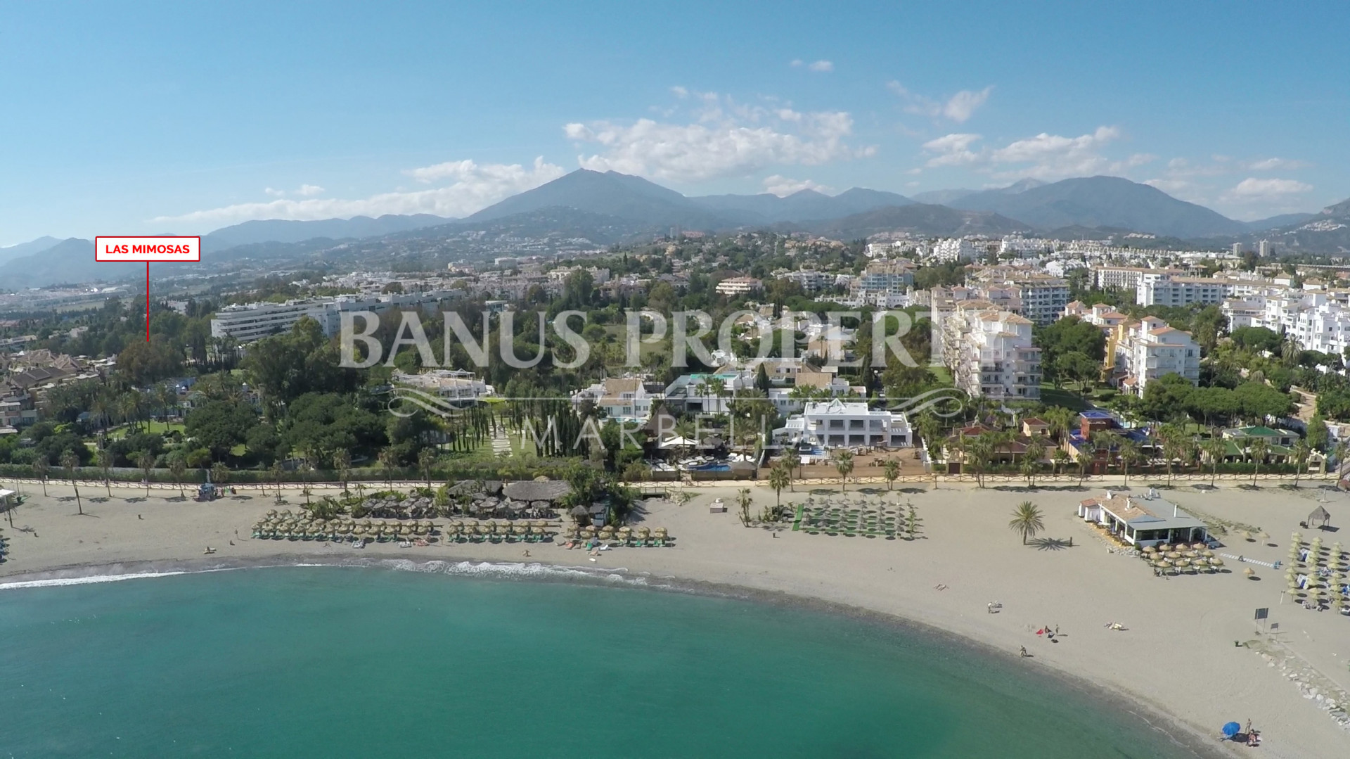 Charming two-bedroom apartment on the second beach line- west facing for sale in Las Mimosas, Puerto Banus